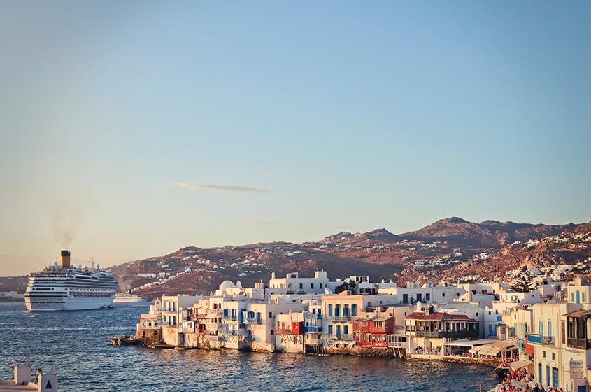 Cyclades Islands And Saronic Gulf - Mykonos2 Ganymede Yachting