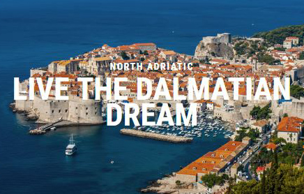 Live the dalmatian Dream Ganymede Yachting